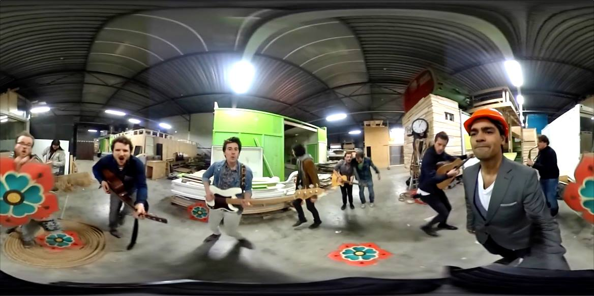 Ín the music video with this 360° clip - Rockstone Sessions